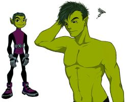 Older Beastboy by Wei-mei