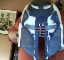 Star Wars Mandalorian Supercommando helmet 3 by MachaPanta