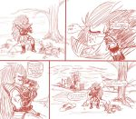 Raditz daily adventure! Page one by Paradise-of-Darkness