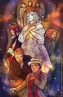 Silver Nemesis for 50 Years of Whovians by novemberkris