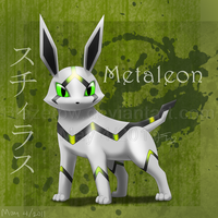 Metaleon v2.0 :Fan Pokemon: by BlazeTBW