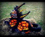 --Sold-- Dragon Puppet YouTube! Video by Wood-Splitter-Lee