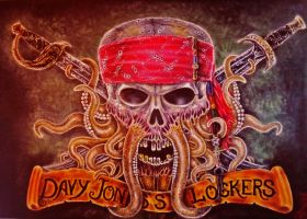 Davy Jones's Loker by sauronthegreateye