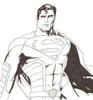 Superman redesigned by aburke81