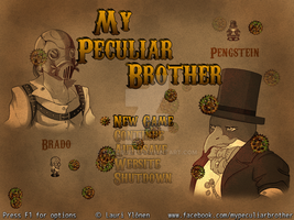 My Peculiar Brother - Title Screen by RaZziraZzi