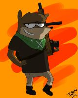 Bad Ass Rigby by TIG3R-I