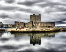 Carrickfergus Castle by ottomatt