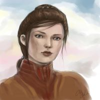 Bastila Shan by DancinFox