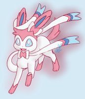 Sylveon by Avi-the-Avenger