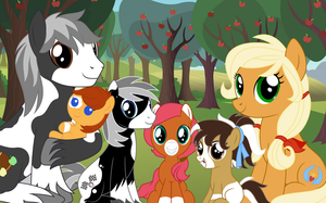 Applewood's family portrait (Young) by Xalcer13