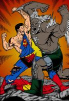 Superman Vs Doomsday by jmascia