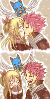 Merry Christmas [NaLu] [2] by LeonS-7