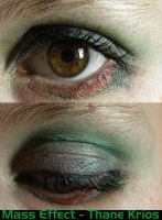 Thane Krios Eye Make-Up by LadySiha
