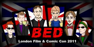 BED London Comic Con 2011 by TheButterfly