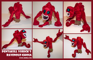 Pentakill Yorick's Ravenous Ghoul Plushie by Fiendle