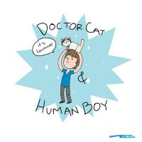 Doctor Cat crossover by AdharaC