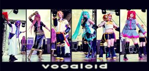 Vocaloid Team by JuTsukinoOfficial