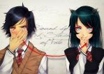 Bound by the Red String of Fate by Ryucchan