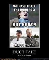 Daily Dose of Funny #40 Duct Tape by DemonicLucario