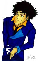 Spike Spiegel by HappyFridge