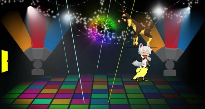 My Disco dance floor by shadowhorsegirl28