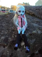 Monster High - Abby Snow. 6 by Jessi-element