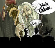 MST3K: YOU'RE WELCOME by tentaclees
