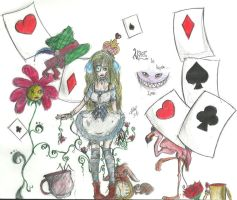 still not finished alice in W by Aemiliia