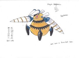 Mega Beedrill by GiantTurnipArmy