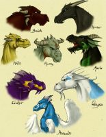 Dragons 1 by Totalrandomness
