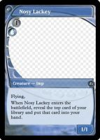 MtG: Nosy Lackey by Overlord-J