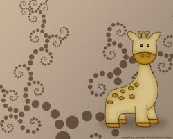 The Little Giraffe by monkey-pants