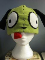 Invader Zim Gir Hat by red-eye-tree-frog