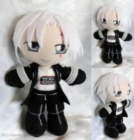 Mini Plushie, Allen Walker by ThePlushieLady