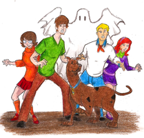 Mystery Inc Ghost Hunting by Mbecks14