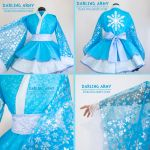 Elsa Cosplay Kimono Dress by DarlingArmy