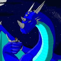 Blue Dragon by Muoteck