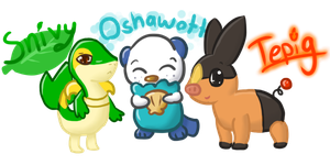 .:Choose Your Starter:. by starsleeps
