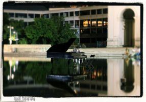 Piano On Water by MementoX