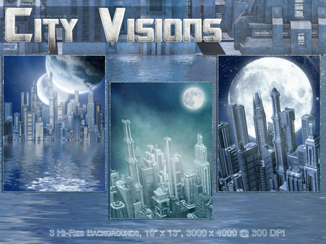 City Visions Backgrounds by poserfan