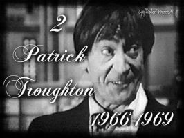 Doctor Who - Patrick Troughton by GryffindorPrincess74