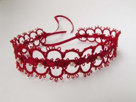 Red choker by Yanagi-no-Yume