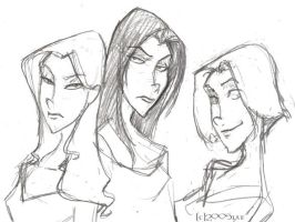 The Sisters Black - HP by lberghol