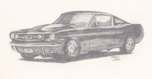 65 Mustang by kquint