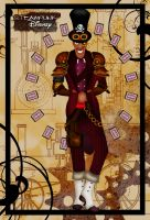 Steampunk Dr Facilier by HelleeTitch