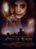 City of Bones Movie Poster by Ardawling