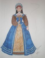 Lady Michelle's Gown Design by LadyJamie