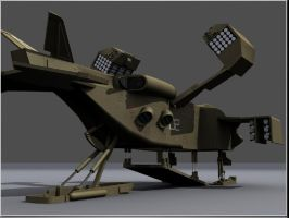 DROPSHIP 3D Studio Model view2 by proteus6007