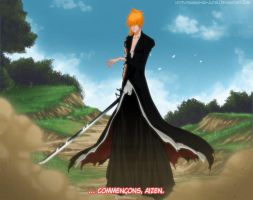 Let's begin Aizen by Bankai-no-jutsu