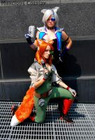Star Fox and Star Wolf Genderbend Cosplay by Malicious-Cosplay
